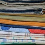 Как отстирать кухонные полотенца в домашних условиях_